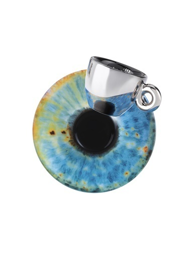 İlly Marc Quınn Art Collectıon Espresso Fincan & Tabak X 2 60 Cc Renkli
